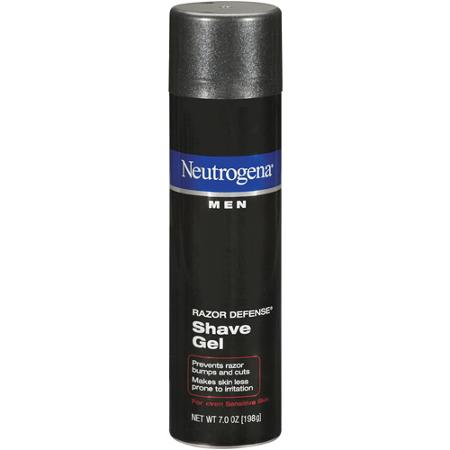 Kem cạo râu Neutrogena Men - Razor Defense Shave Gel (Mỹ)