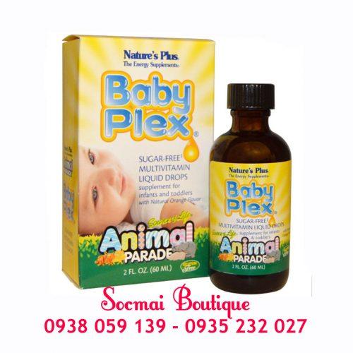 Baby Plex dạng nước 60ml cho trẻ: Giúp bé phát triển toàn diện