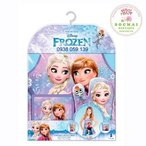 Bộ làm bếp Frozen dành cho bé gái, mua tại Pháp, có hóa đơn