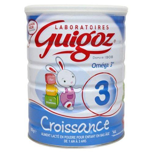 Sữa Guigoz croissance số 3 930 gram của Pháp