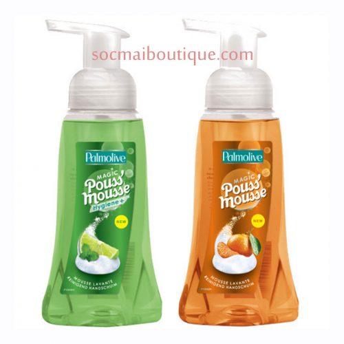 Nước rửa tay dạng bọt Pouss' Mousse PALMOLIVE mua từ Pháp