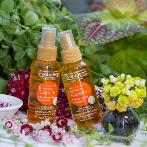 Tinh dầu cà rốt giúp tái tạo làn da & làm mềm da Evoluderm (Pháp)