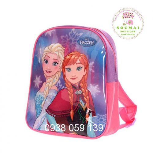 Ba lô Frozen cho bé, mua tại Pháp, có bill
