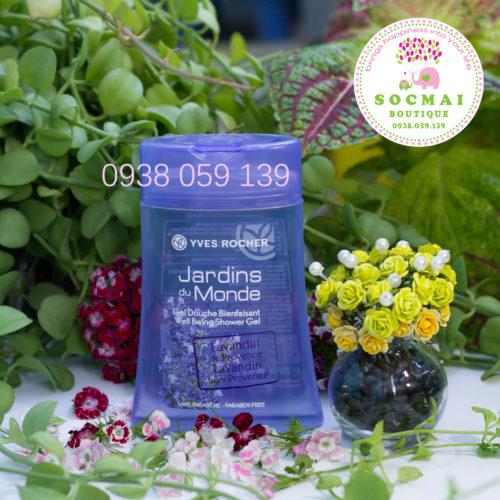 SỮA TẮM YVES ROCHER 200 ml - Hương Lavender - Hàng mua trực tiếp tại Pháp